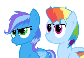 Aurora Dash and Sonic Bolt by Psycho-CandyAddicted