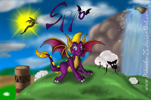 Spyro - The hero of Artisans by pikachu-25