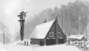 Value Study - 'Borowkowa' by ZacharyHogan