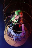 C.C. in the cage by GarnetTilAlexandros