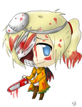 Chibi Chainsaw by Sfrey4138