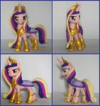 Armored Cadance 2 by MadPonyScientist