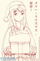 Happy Holidays from Shoukaku by BoggeyDan