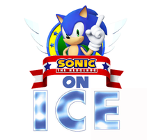 Sonic For Hire Sonic On ICE Logo Remake by pepsiboy3