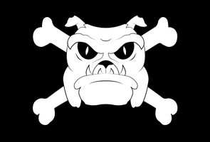 Bulldog Jolly Roger by EpsilonTLOSdark4