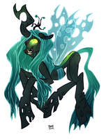Queen Chrysalis by SIIINS