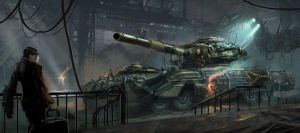 MMAU - Mobile Mechanized Artillery Unit by Matchack