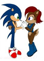 We Are In This Together Sonic by theOrangeSunflower