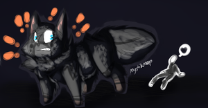 [gift] Hes behind me isn't he by MystikMeep