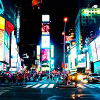 Times. Square. by lipstickmisfit