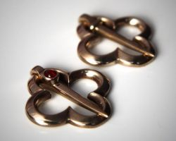 Medieval annular ring brooches by MatthiasBlack