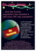 Art-i-Fact: Human Population by aaherregud