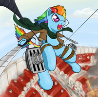 Attack on Pony by RunbowDash