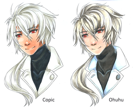 Ohuhu Marker vs Copic Review by Centi