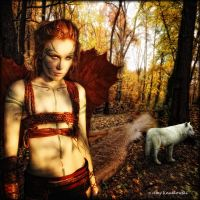 The Wolf Tamer by WallflowerImages
