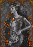 --black and white gothic-- by Girre