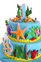 Sea shell cake by Verusca