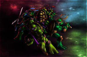 Turtles by nixuboy