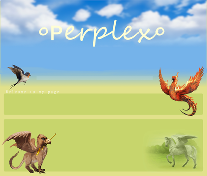 perplex's layout for howrse by HoofBeat-Graphics