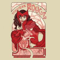 Sorciere Rouge by miss-lys