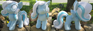Snowdrop Plushie Take Two by Drachefrau