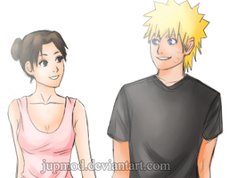 NaruTen: Walking Together Close-up by JuPMod