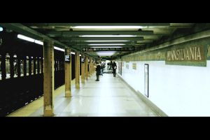 NYC Subway II by ordre-symbolique