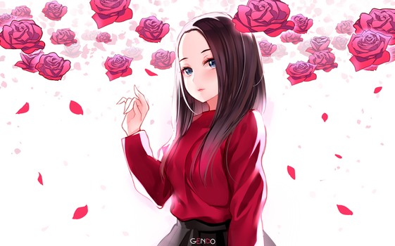 Leehi - ROSE by Gendo0032
