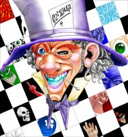 Mad Hatter by ThirteenthBullet