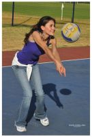 Volleyball Girl - 1 by Gerry-Lee