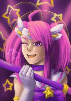 Star Guardian Lux! by RainbowfiedMaya