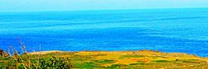 Land of Green and Sea of Blue by jkstrlphinaestrd1780