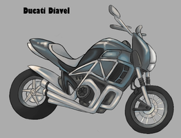 Ducati Diavel - Colored by OyOy