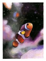 Nemo in Gouache by JustMarDesign