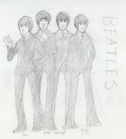 Beatles by tsukinoyagami