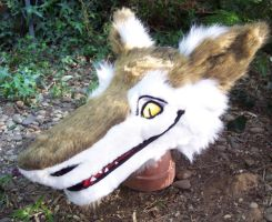 sergal head by LilleahWest