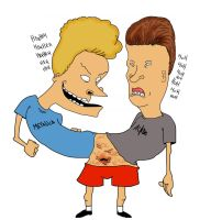 BEavis and Butthead  Mutant by Makinita
