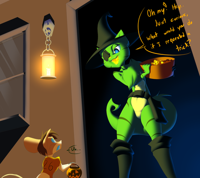 Trick or What? by Machaphasesix