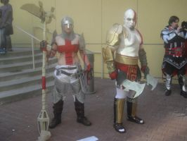 Dante and Cronos cosplay pair by Boggeyboo