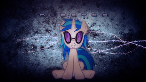 Vinyl Scratch Dubstep Wallpaper by SandwichDelta
