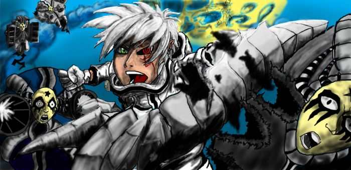 Allen Walker ( D.Gray Man) by rahulsatish93