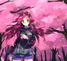 Cherry Blossom by EUDETENIS