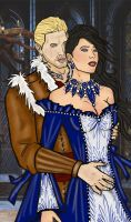 Cullen and Sela by OurMysticalNonsense
