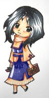 ...:::Chibi Lacuil:::... Copic by EscarlattaNoTales