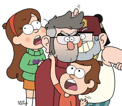 Love the Grunkle by ArtsyMeeShee