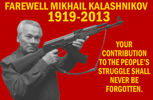 Farewell Comrade Kalashnikov by Party9999999