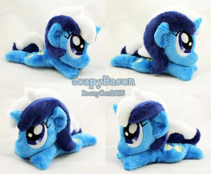 Mini 5.5in Colgate ~ BronyCon Stock 2016 by TheHarley