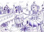 Persian Palace's Courtyard by LooseMinded