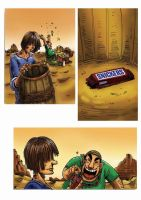 snickers ad storyboard 3 by kwee85