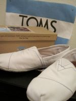 TOMS SHOES WHITE by modaxxa